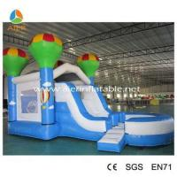 Quality 2016 popular kids bouncer with slide inflatable combo commercial inflatable combo for sale