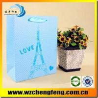 Quality 2015 New Luxury Shopping Paper Bag for gift for sale