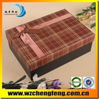 Quality paper box for apple gift for sale