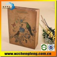 Quality Luxury Shopping Paper Bag for gift for sale