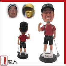 """Buy Sports Bobblehead 7"""" customized personalized golfer bobble head at wholesale prices"""