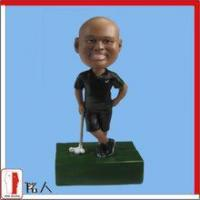Quality Sports Bobblehead golf player bobblehead for sale