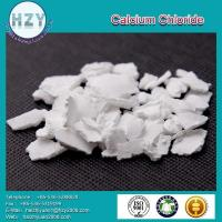 China CaCl2 White flakes Calcium Chloride on sale