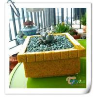 Buy cheap Indoor decorative small rectangular succulent pots flower planter from wholesalers