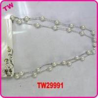 Quality latest design beads necklace excellent jewelry pearl necklace for sale