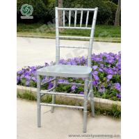 Quality Metal Color Series Silver Resin Chiavari Chair_YM1103S for sale