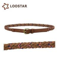 braided leather cord belt for dress of 16835216