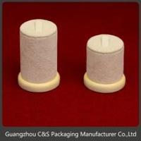 Customized Original Design Competitive Price Supplier In Guangzhou Wood Ring Display Stand