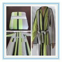 custom made microfiber hotel bathrobe