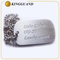 label plate and marking logo metal dog tag engraver