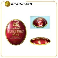 Quality bottle round aluminum red label whisky for sale