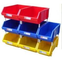 Quality warehouse stackable plastic storage bin for small parts for sale