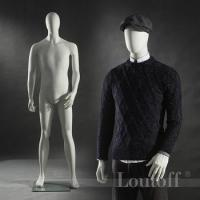 Quality Fashion retails clothing store window man mannequins from sale for sale