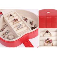Quality Leather Case leather jewellery box onlin Jewelry Case THD-07 for sale
