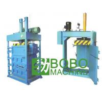 Quality Recycling machine Fabrics / Textiles Baling Machine Item:003 for sale