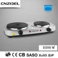 Quality Cnzidel Double Burner eltectric countertop stove 110volts for sale