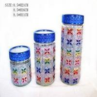Buy cheap kitchen tea coffee sugar canisters from Wholesalers