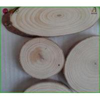 China Wooden Tree Log Slices for Rustic Crafts and Decorating Ideas on sale