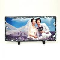 Quality Rock Photo Sublimation Photo Slate - Small Rectangle for sale