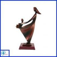 Quality Hand carved resin mother and kid statue for sale
