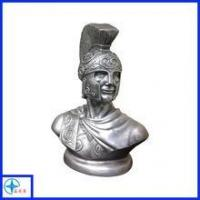Quality Spartan Warrior Bust Greek God Roman Soldier Statue Sculpture for sale