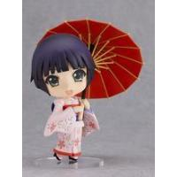 Customize japan resin lovely girl doll with umbrella kid toy or home decoration
