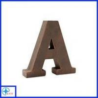 Quality Letter A sign, decorative letter sign, polyresin custom letter sign for sale