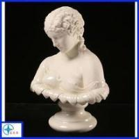 Hand carved resin bust statue