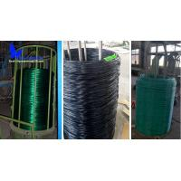 Quality PVC COATED WIRE IN BIG COIL, USED FOR WEAVING CHAIN LINK FENCE for sale