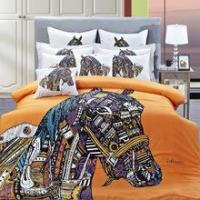 Quality 100% cotton reactive Printed bedding set for sale