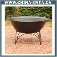 China supplier outdoor big base fire pit