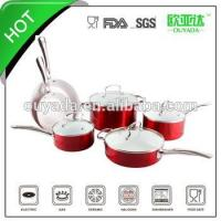 Quality 10pcs chinese aluminum ceramic cooking pot for sale