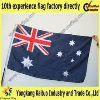Quality Promotion factory directly supply Australia satin flag for sale
