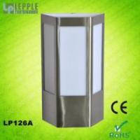 Quality New design E27 socket IP44 waterproof modern stainless steel garden outdoor wall light for sale