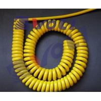 Buy cheap Power yellow spiral cable from Wholesalers