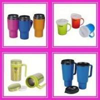 Quality plastic cup with lid for sale