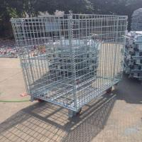 Quality Steel Box with Wheels for sale