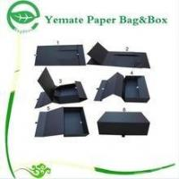 high quality flat pack decorative customized luxury paper folding gift packaging box