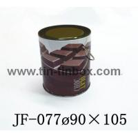 Quality Tin box for food Tin box for food JF-077 for sale
