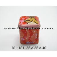 Quality Tin box for food Candy tin box ML-181 for sale
