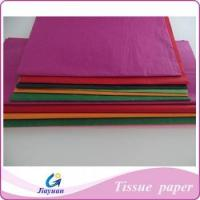 Quality MG/MF Colorful Tissue Wrapping Paper for sale