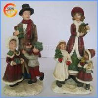 China Resin Christmas Crafts for home decor on sale
