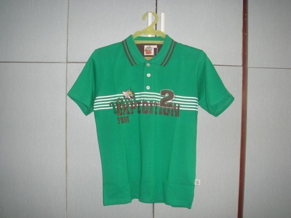 Buy Polo Shirt ARTICLE NO: HR2014-002 GREEN at wholesale prices
