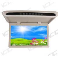 Quality Manually Flip Down Monitor 15.6 inch Slim Coach Roof Monitor for sale