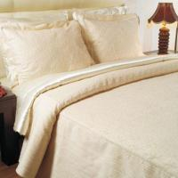 Quality microfiber bedspread and pillowcase for sale