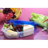 Quality Plastic lunch box 3 compartments for sale