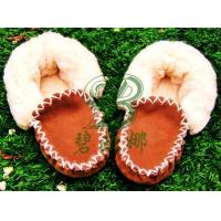 Quality *Sheepskin Baby Booties for sale