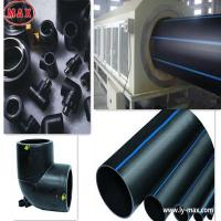 blue polyethylene pipe for water supply