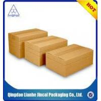 Buy cheap brown color corrugated carton box from Wholesalers