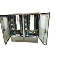Quality Outdoor Stainless Steel 1152 Core Fiber Optic Cross Connect Cabinet for sale